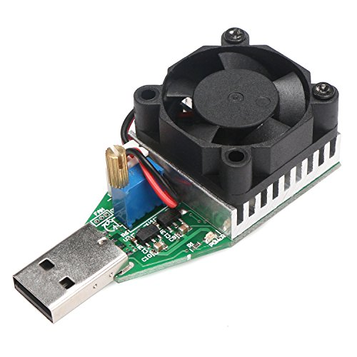 Fantastic Deal! USB Load Tester, DROK Micro Battery Load Detector Board 0.15-3A 15W Adjustable Const...