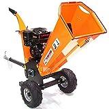 Trituradora de gasolina 55754 de 120 mm para cortar leña, motosierra AWZ