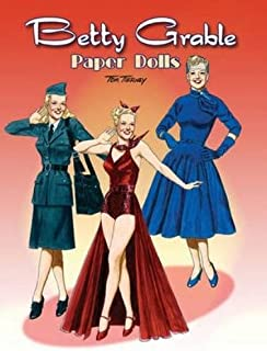 Betty Grable Paper Dolls (Dover Celebrity Paper Dolls)
