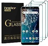 iVoler [4 Pack] Pellicola Vetro Temperato per Xiaomi Mi A2, Pellicola Protettiva, Protezione per Schermo