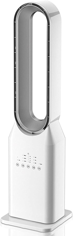 Ultrasilencioso Torre Ventilador con Mando a Distancia, Ventilador de Torre Sin Aspas, Temporizador de 7.5 Horas, 3 Velocidades de Viento, OscilacióN de 60 °, Aire Purificado Negativo Ion