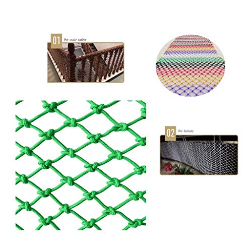 Why Choose WNSW Green Protective Net Rope Net, Climbing Protection Outdoor Nylon Rope Net, Children'...