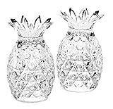 King International 100% cristal de cristal con corte de diamante, salero y...