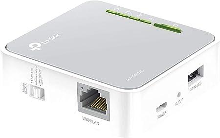 Amazon.nl-TP-Link AC750 Mini Pocket Wifi-router, 1 Ethernet-poort, 1 USB-poort, ondersteuning voor USB 3G / 4G-modem, Multi-mode: Router, Hotspot, Repeater, Client, AP en WISP (TL-WR902AC)-aanbieding