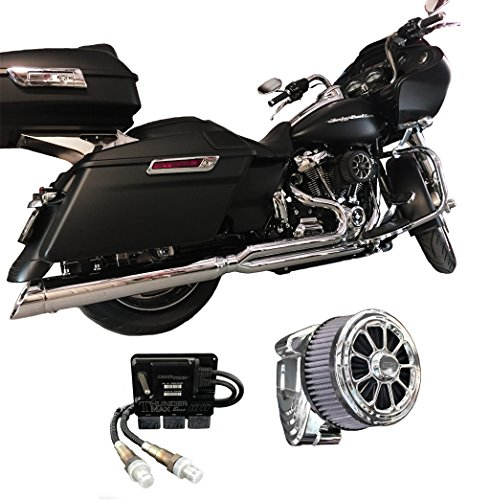 2017 Harley Touring Package D&D M8 Billet Cat ThunderMax 309-588 & CSR Intake