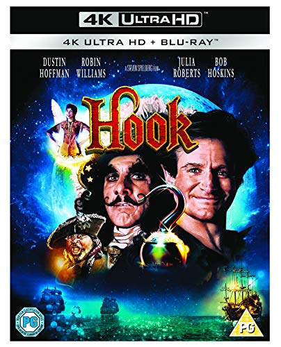 Hook [4K Ultra HD] [Blu-ray] [2018] [Reino Unido]