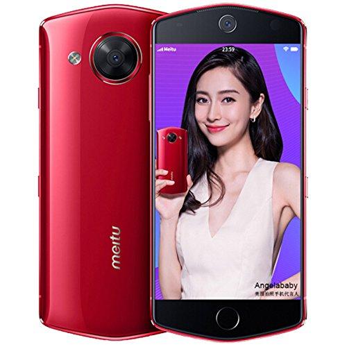 Meitu M8 Selfie Beauty SmartPhone/4GB RAM / 64GB ROM 5.2-inch 21MP Front Camera (Red)