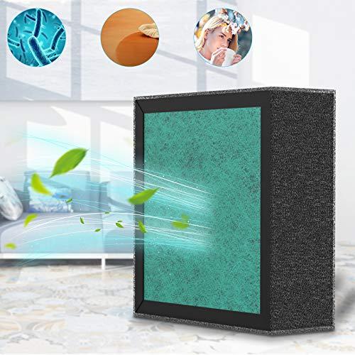 Haipingyang Filtro de Repuesto para purificador de Aire HEPA - filtros de carbón Activado de Alta eficiencia - B083QYNZTV