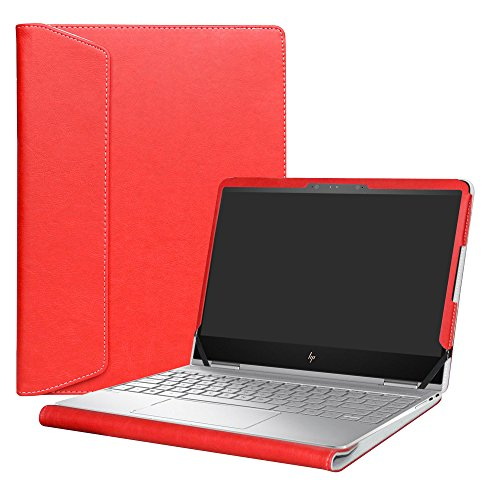 "Alapmk Protective Case Cover for 13.3"" HP Spectre x360 13 13-wXXX (13-w000 to 13-w999,Such as 13-w023dx) & 13-acXXX (13-ac000 to 13-ac999,Such as 13-AC013DX) Series Laptop[Not fit 13-aeXXX],Red"