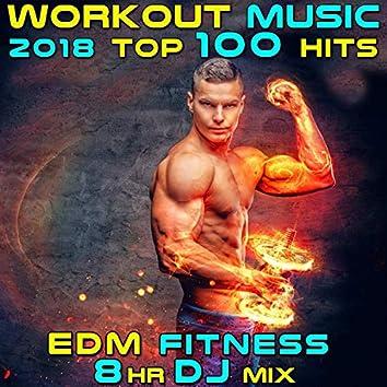 Workout Music 2018 Top 100 Hits EDM Fitness 8 Hr DJ Mix