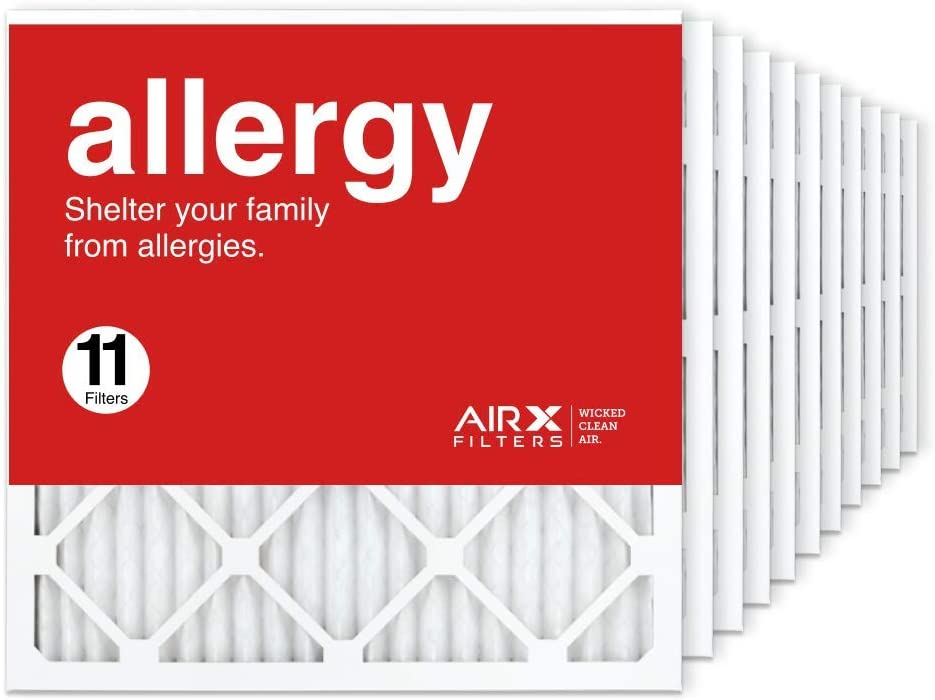 AIRx Bargain Filters 20x20x1 Air Filter MERV AC 11 Furnace Pleated Brand new HVAC