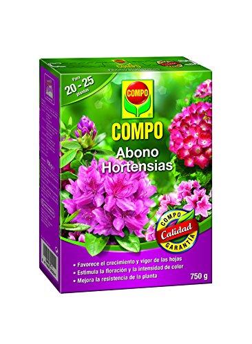 Compo 750 g Abono de hortensias y Camelias para Plantas de Interior,...