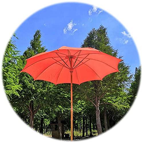 YCMY Bambú Sombrilla Playa 2m Sombrilla De Jardin Exterior Protección Solar Sombrillas Terraza, Bambú Natural, Anti-Ultravioleta, Productos Hechos A Mano, con Funda para Paraguas (sin Base).