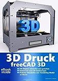 3D Druck Software Drucker Printer auf CD DVD FreeCAD plus Die professionelle 2D + 3D Software Konstruktion Architektur, Maschinenbau, Elektrotechnik CAD Programm, Software für Windows