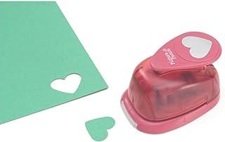 "DARICE Paper Punch Heart 1"" 1"" Multicolor"