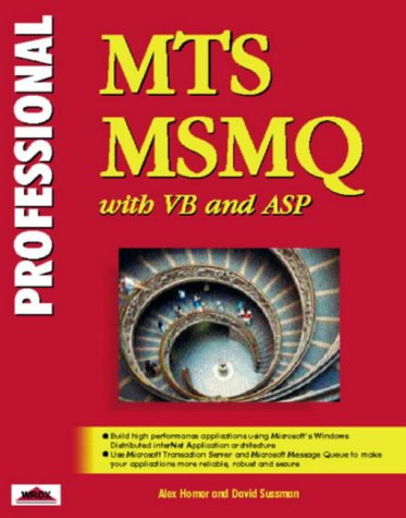 Professional Mts and Msmq With Vb and Asp (Professional S.)