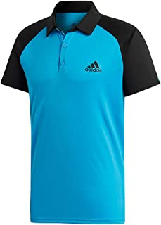adidas Mens Tennis Club Color Block Polo