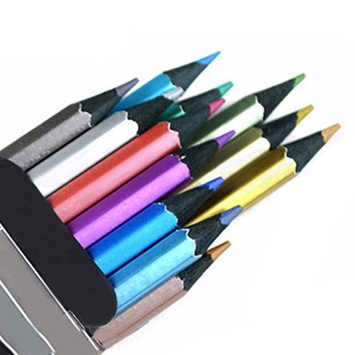 KimcHisxXv potlood, 12 kleuren tekeningen schetsen potlood, 12 stuks