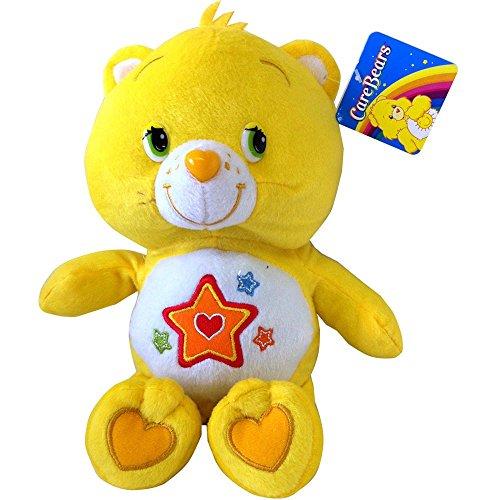 Plüsch Die Die Glücksbärchis 40cm gelb Stern