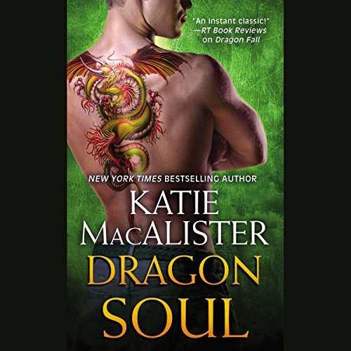 Dragon Soul audiobook cover art