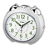 Casio Analog Despertador Bell alarma con Repetición Weiss TQ–369–7EF