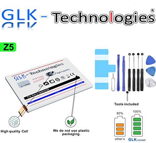 High Power Akku für Sony Xperia Z5 LIS1593ERPC   2900 mAh   Original GLK-Technologies® Battery   inkl Werkzeugset // Produkt 2020 Bj