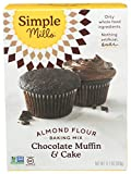 Simple Mills Almond Flour Baking Mix, Gluten Free Chocolate Cake Mix, Muffin pan ready, Made with whole foods,...