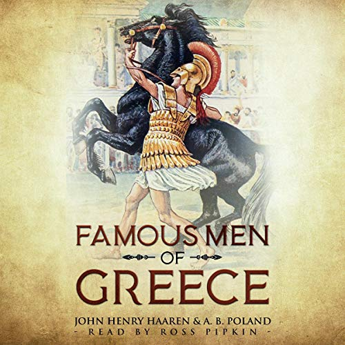 Famous Men of Greece: Annotated cover art