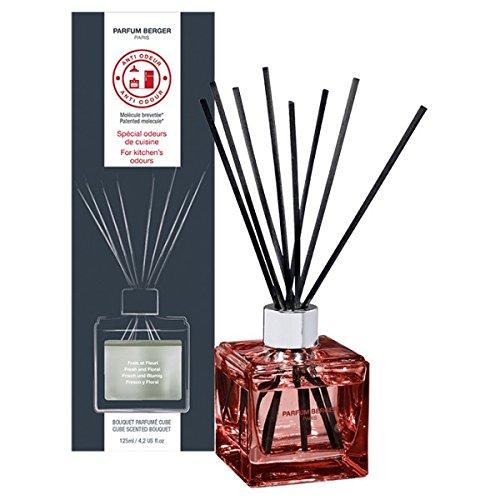 Lampe Berger Bouquet de Parfum Cube Anti Odeur Cuisine N ° 1 Frais & Fleuri / Anti odeurs de Cuisine N ° 1 Frais & Fleuri 125 ML