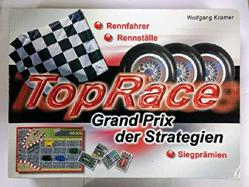 TopRace - Grand Prix der Strategien, Rennfahrer - Rennställe - Siegprämien [Brettspiel].