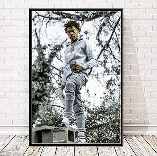 Impresiones De Carteles Lil Baby & Gunna Drip Hip Hop Rap Music Singer Star Wall Art Canvas Pintura Sala De Estar Decoración del Hogar 50X70Cm -Gl838
