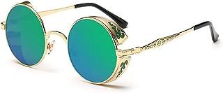 Vintage Hippie Retro Metal Round Circle Frame Sunglasses CS1039