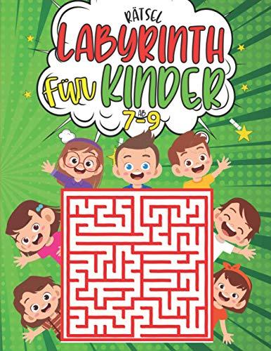 labyrinth rätsel für kinder ab 7-9: 100 Labyrinth 3 ebenen mit Lösungen - Aktivitätsbuch für Kinder - rätselhefte für kinder ab 7-9 jahren - Lustiges ... Kinder - Geschenkidee fur Mädchen und Jungen