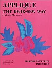 Applique: Kwik Sew Way