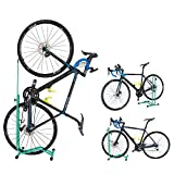 GORIX(ゴリックス) 自転車 スタンド [縦置き 横置き 掛置き 3タイプ] メンテナンス 簡易スタンド (ホイール&ステースタンド) HS-013D (チェレステ)