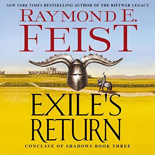 Exile's Return audiobook cover art