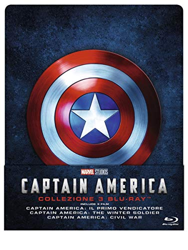 captain america trilogy (blu-ray) [Itali...