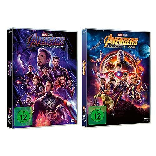 Avengers: Infinity War + Endgame DVD Collection