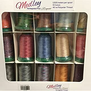 Exquisite Medley Variegated Embroidery Thread Set