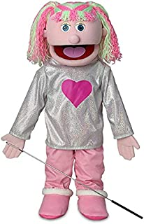 """25"""" Kimmie, Pink Girl, Full Body, Ventriloquist Style Puppet"""