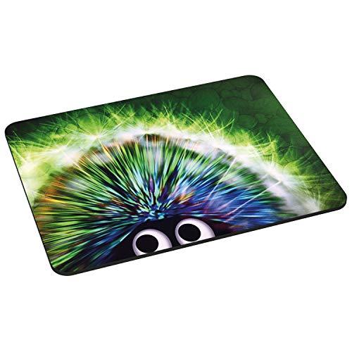 PEDEA GmbH 67007014 - Alfombrilla de ratón con diseño green hedgehog