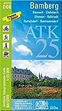 ATK25-D08 Bamberg (Amtliche Topographische Karte 1:25000): Baunach, Ebelsbach, Eltmann, Hallstadt, Rattelsdorf, Rentweinsdorf (ATK25 Amtliche Topographische Karte 1:25000 Bayern)