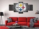 SILUYU-Leinwanddrucke,Pittsburgh Steelers NFL Team Logo