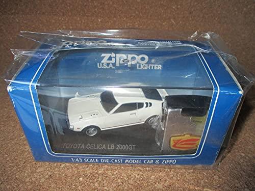 ZIPPO & MODEL CAR 『 CELICA LB 2000GT トヨタ セリカ』製造年月未確認 ダルマ オイルライター ジッポ 廃版激 未使用品