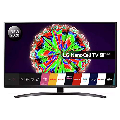 LG 50NANO796NE 50 inch 4K UHD HDR Smart NanoCell TV - Black colour (2020 Model) [Energy Class A]