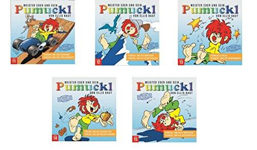 Meister Eder und sein Pumuckl CD-Hörspiel Set Folge 11-15 - Deutsche Originalware [5 CDs]