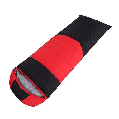 con 60% de descuento Saco de Dormir RTGFS Saco de Dormir para para para Adultos al Aire Libre Doble Saco de Dormir Ultra Ligero Abajo sobre Camping Camping Saco de Dormir 1000G (80 Terciopelo) rojo  el precio más bajo