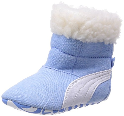 Puma Unisex Kinder Baby Boot Fur Krabbelschuhe, Blau (Little Boy Blue-White 05), 18 EU