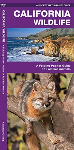 California Wildlife: A Folding Pocket Guide to Familiar Animals (Wildlife and Nature Identification)