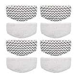 Bonus Life Steam Mop Pads for Bissell Powerfresh Steam Mop 1940 1806 1544 1440 2075A Replacement, 8 Pack